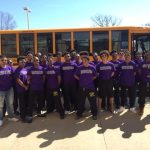 Madison Heights High School Boys Varsity Track finishes 1st place