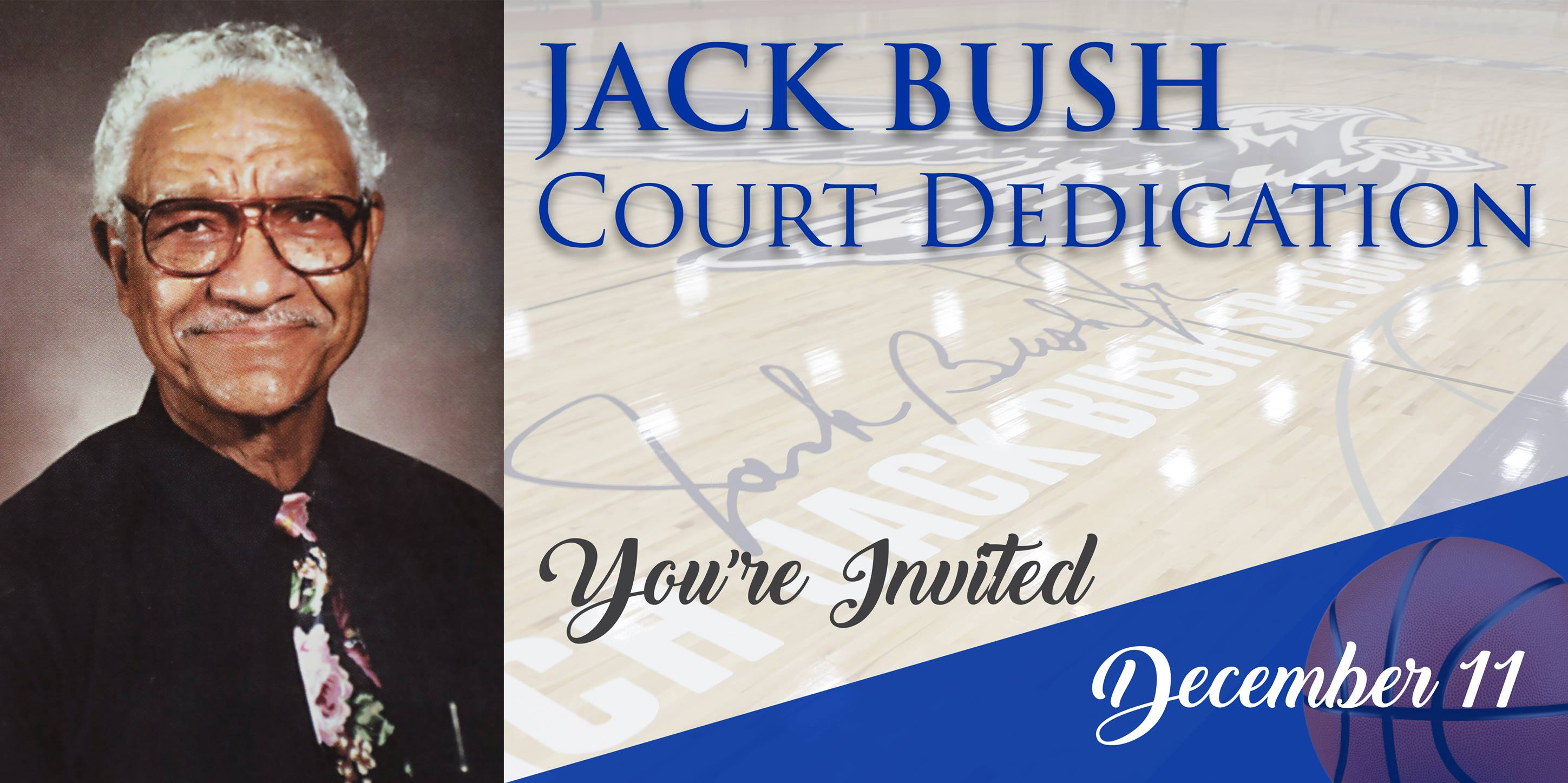 JACK BUSH COURT DEDICATION