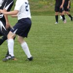 Bethlehem-Center Senior High School Boys Varsity Soccer beats Bishop Canevin High School 3-2