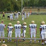 Bethlehem Center Middle School Football bests Bentworth 30-8