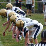 Bethlehem Center Middle School Football beats California 38-12