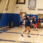 Bethlehem-Center Senior High School Girls Varsity Volleyball beat Washington High School 3-0
