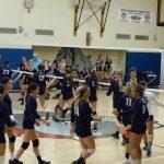 Bethlehem-Center Senior High School Girls Varsity Volleyball beat Charleroi High School 3-0