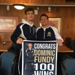 DOMINIC FUNDY 100 WINS!