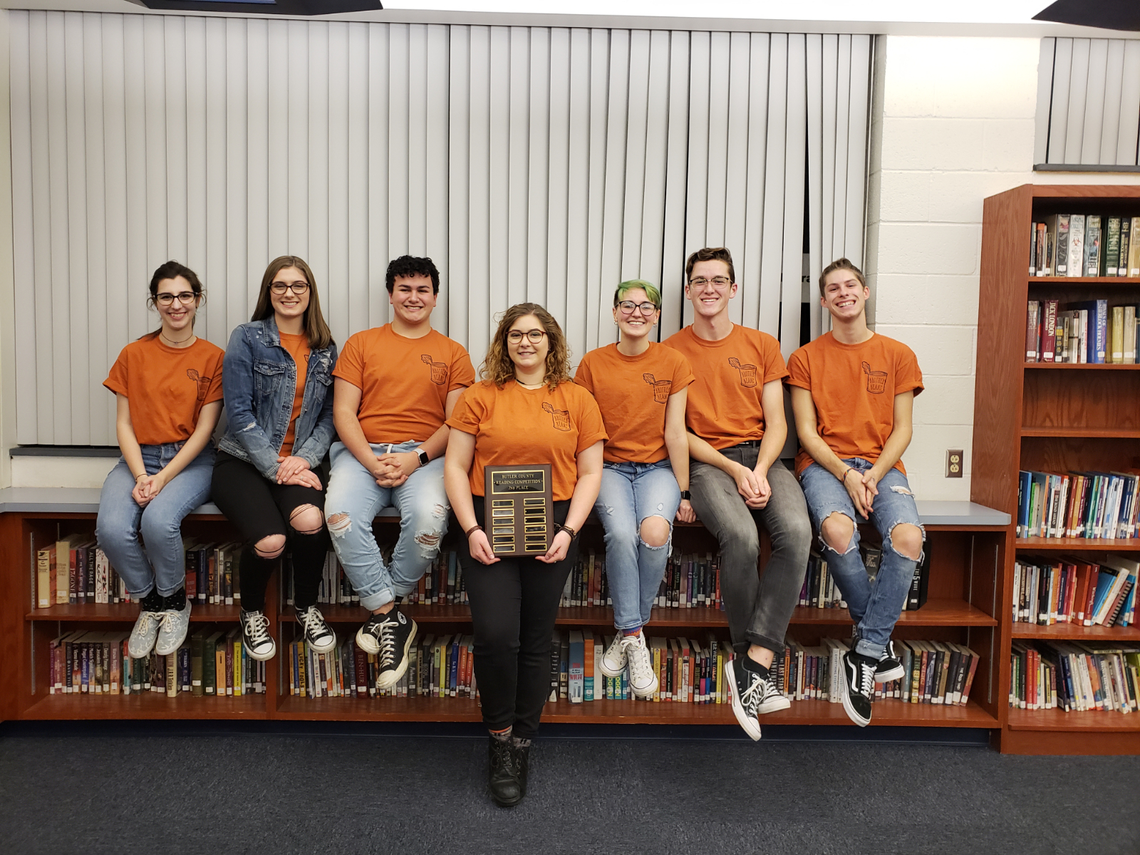 Congratulations to Brother Beans for placing 2nd at Butler County Reading competition!