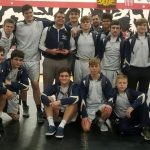Boys Varsity Wrestling Places 4th at Duals!