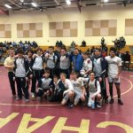 Wrestling team advances to states!
