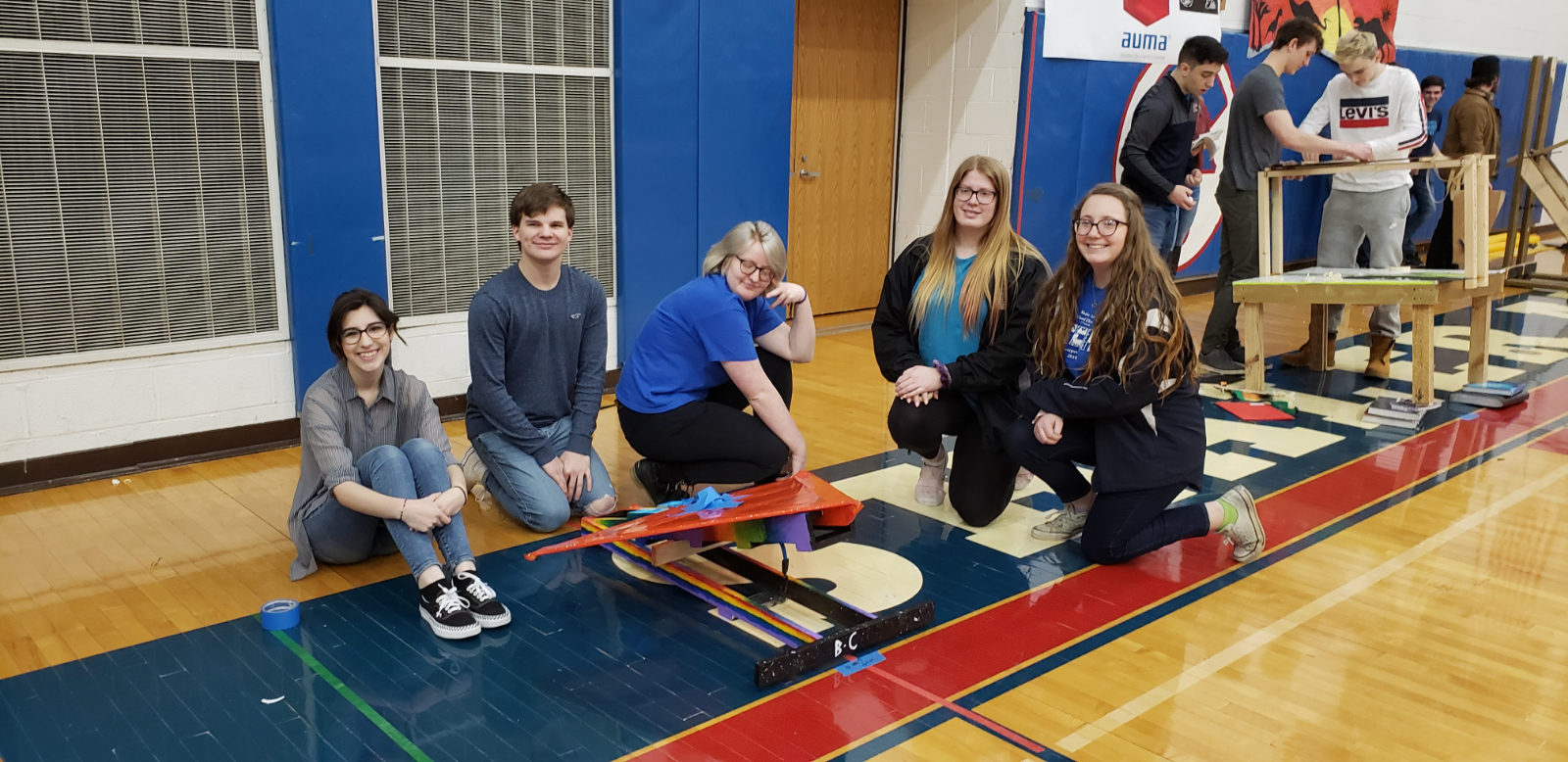 Team competes at Shaler STEAM competition