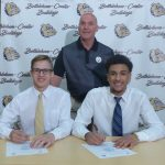 JJ Green and Bailey Lincoski Sign with Marietta College!