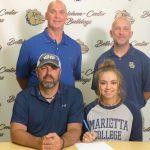 Mackenzie Crile Signs with Marietta College