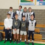 Boys Varsity Wrestling team places 5th at TRICADA Tournament
