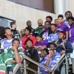 I.L. football black history program