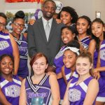 New superintendent Dr. Bedell visits Northeast High School