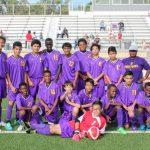 Northeast middle school boys soccer wins 1st season game 7-0 against academy Lafayette,