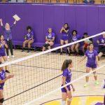 Northeast Senior High School Girls Varsity Volleyball beat Cristo Rey Kansas City High School 25-20