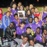 Northeast vikings 2nd place District boys soccer