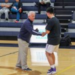 Liberty North basketball tournament all academic team. Jesus Vega