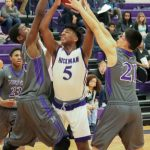 Northeast Senior High School Boys Varsity Basketball falls to Hickman High School 51-45