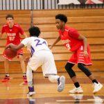 Northeast Senior High School Boys Varsity Basketball beat Shawnee Mission North High School 45-41