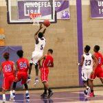 Northeast Senior High School Boys Varsity Basketball falls to Southeast High School 56-44