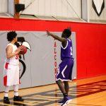 Northeast Senior High School Boys Varsity Basketball beat Van Horn High School 58-55