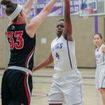Northeast Senior High School Girls Varsity Basketball falls to KC Metro 80-30