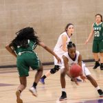 Northeast Senior High School Girls Varsity Basketball falls to East High School 58-31
