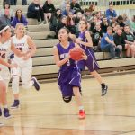 Northeast Senior High School Girls Varsity Basketball falls to Kearney High School 76-15