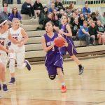 Northeast Senior High School Girls Varsity Basketball falls to Kearney High School 76-15