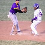 Vikings lose to Cristo Rey 1st baseball game of the spring.