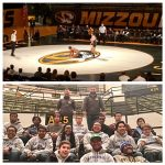 Lincoln Wresting visits Mizzou