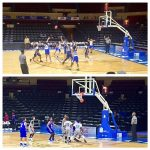 Middle School Basketball Teams Win at Municipal Auditorium