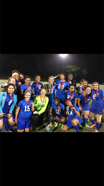 Lincoln Girls Soccer Crowned Champions!