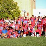 Southeast takes a clean sweep in league football. JV team wins league championship