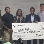 Calan Taylor – Winner of Reliant Energy Leadership Scholarship