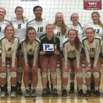 Hawk Volleyball Team sweeps Perry Invite