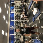 Freshman Boys Basketball weightlifting!!