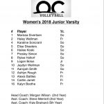 Meet Our JV Team!