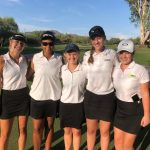 Girls Golf Takes Second Place in First Match