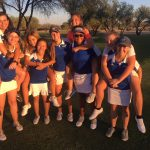 Girls Golf Battled Top 5 Pinnacle
