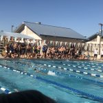 Swim/Dive compete against HHS and EFHS