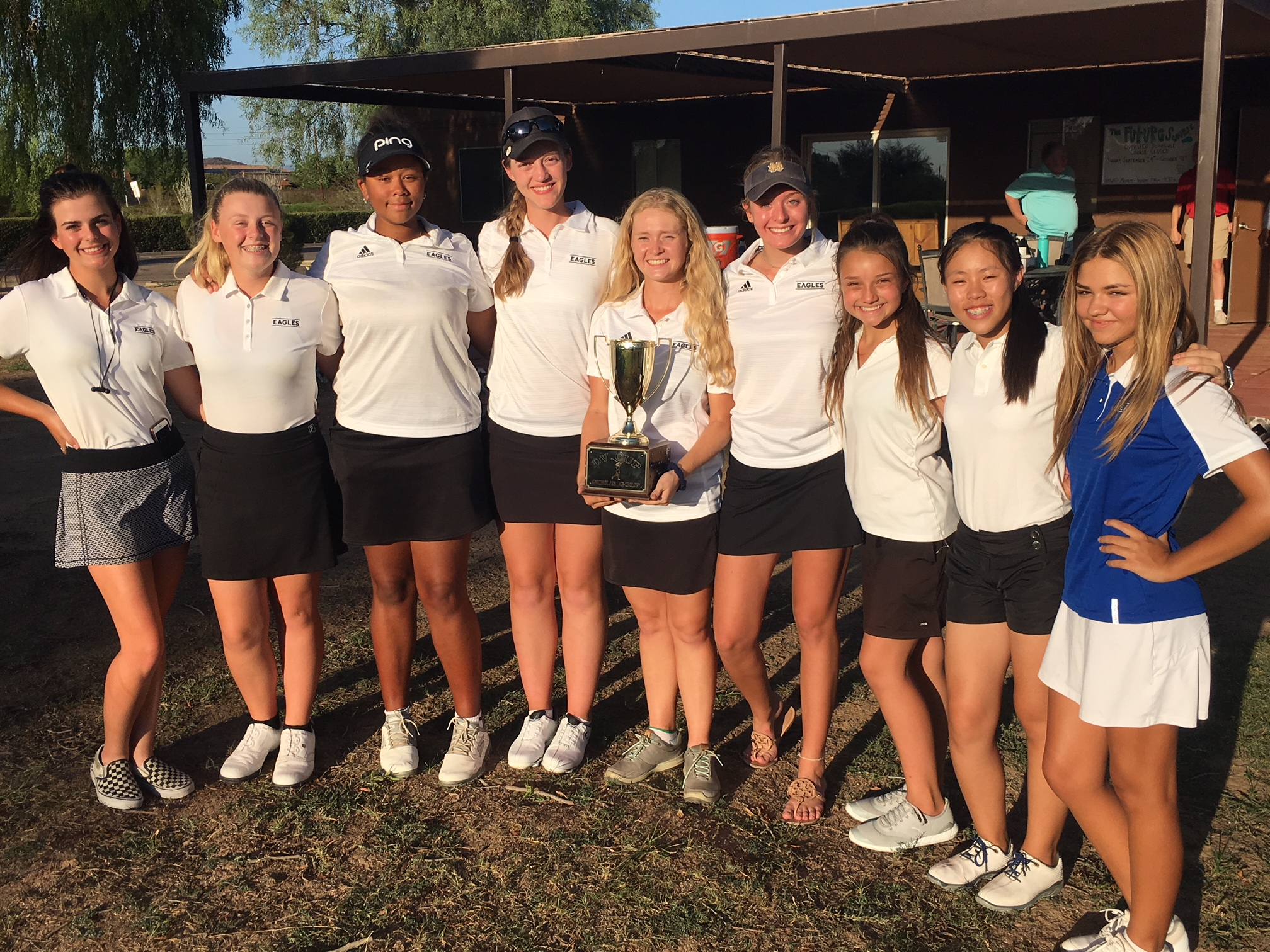 Girl's Golf Completes a 5-Peat! Wins DV Cup Again!