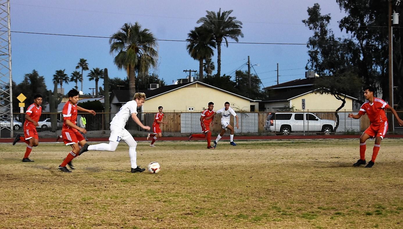 Varsity Boys Soccer: Eagles clip the Mustangs in Second Overtime #roadtostate