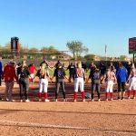 Girls Varsity Softball beats Liberty 27 – 7