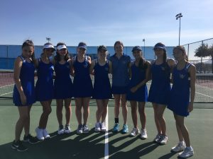 OC Girls Tennis team 2019