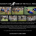 2019 Summer Speed, Agility,and Strength Camp