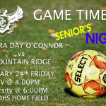 COME OUT TO SUPPORT YOUR O'CONNOR EAGLES!