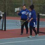 Lady Pioneer Tennis beats Hammond Academy @GRC HS