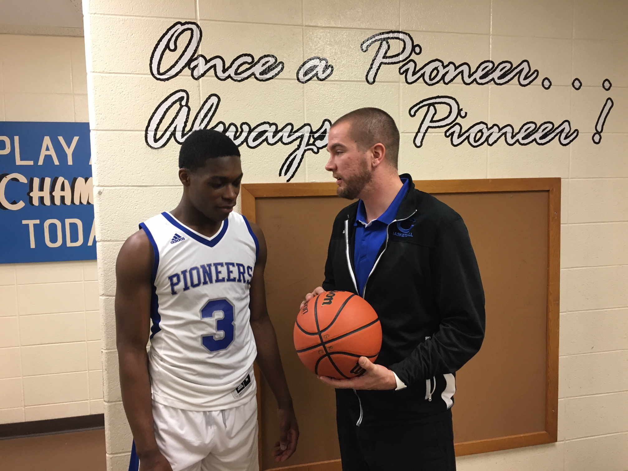Congrats to Pioneer Senior Jeremy Shannon on reaching 1,000 pts for his HS basketball Career