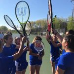 Lady Pioneers Tennis advances in Sectional Play